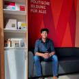 Für zwei Wochen als Praktikant im Wehnerwerk: Akshat Pranesh