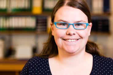 Sophie Augustin, pädagogische Mitarbeiterin für kommunalpolitische Bildung