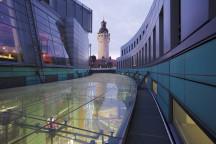 Blick auf das neue Rathaus in Leipzig © Michael Bader