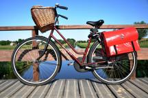 Wir erkunden das Leipziger Neuseenland mit dem Fahrrad.