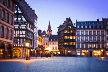Blick auf den Prinzipalmarkt in Münster. Bild (unbearbeitet): https://www.flickr.com/people/miles92/