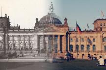 Fotomontage Reichstag 1929-2009