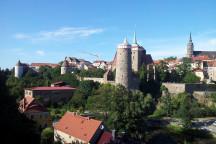 Panorama der Stadt Bautzen