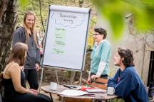 Brainstorming in der Gruppe