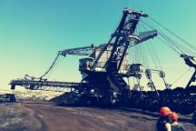 Tagebau im Leipziger Neuseenland
