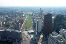 Blick auf die Innenstadt Berlins