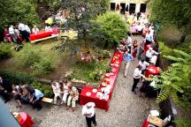 Dieses Jahr nicht: ein großes Grillfest im Garten der Kamenzer Straße