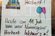 Das Bildungswerk wünscht Herbert Wehner alles Gute zum 112. Geburtstag!