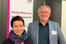 Karin Pritzel und Boris Brokmeier neuer Vorstand des AdB