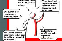 Was über den Migrationspakt behauptet wird....
