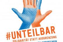 Logo #unteilbar - Demo am 24.8.2019
