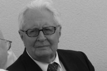 Hans-Jochen Vogel 2008 in Dresden. Foto: Dietrich