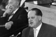 Herbert Wehner am 30. Juni 1960