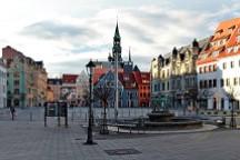 Panorama des Zwickauer Hauptmarktes